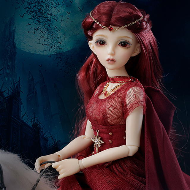 Minifee Sia BJD Dolls 1/4 Girlish Ball Jointed Doll High Fashion Hobby Collection Gifts for Girls Fairyland