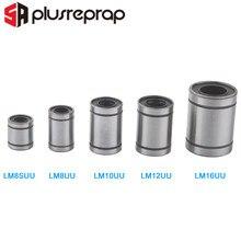 LM8SUU LM10UU LM12UU LM16UU Linear Lager Bush Buchse für 3D Drucker Teile