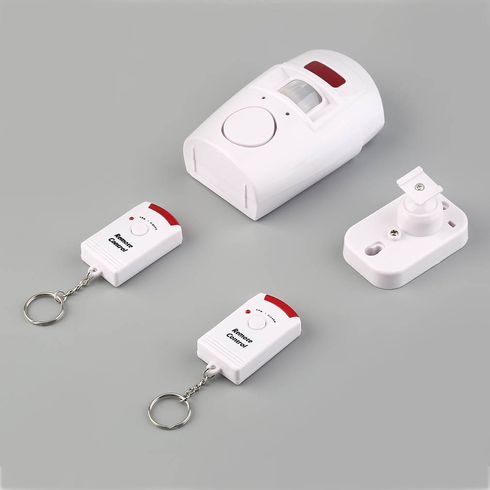 LESHP 105 DB MP Alert Infrared Sensor Alarm System 2 Remote Controller Wireless Home Security PIR Anti-theft Motion Detector