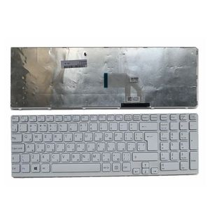 Image 3 - YALUZU clavier dordinateur portable russe pour Sony SVE17 E15 E15115 E15116 E15118 E1511S SVE151MP 11K73SU 920 RU disposition claviers noir