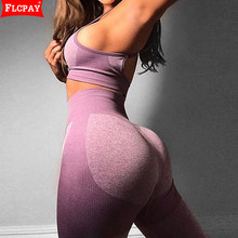 Women's Workout Sets 2 Piece Outfits High Waisted Yoga Leggings One Shoulder Crop Top Sports Bra Gym Clothes Athletic Tracksuits
