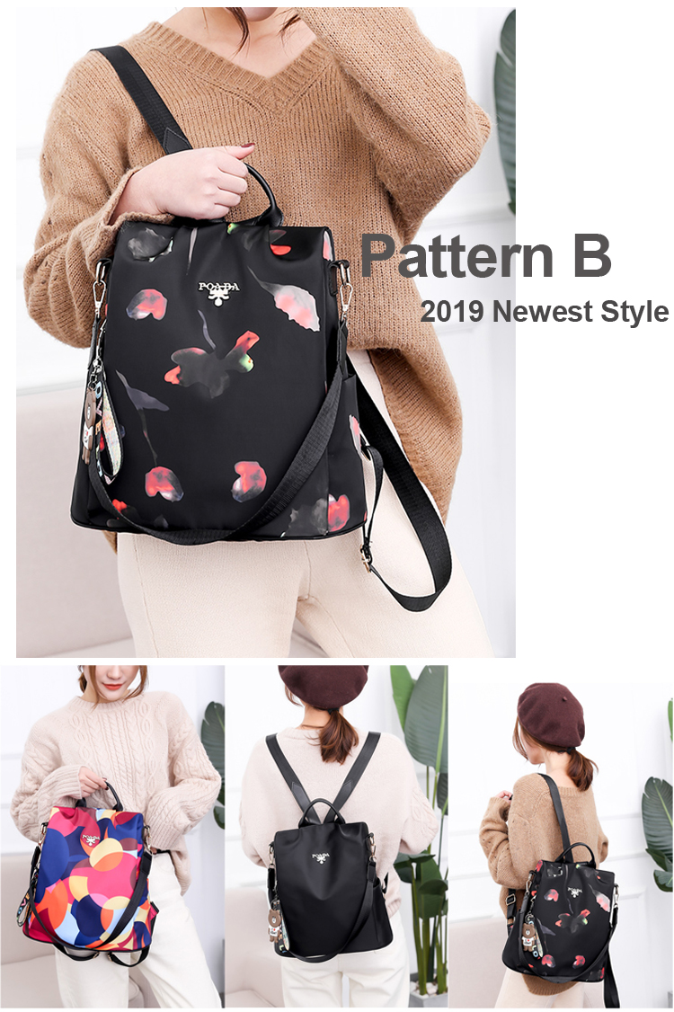 H8feb6ae01ddf4bb8a159adc71b5403dcZ - Vadim New Fashion Women Backpacks  Waterproof Oxford Backpack Female Anti Theft Bagpacks School Bags for Girls Mochila Mujer