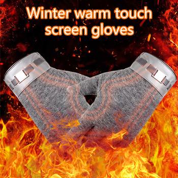Zimowe rękawiczki damskie 2020 męskie termiczne ekrany dotykowe pełne mitenki cieplejsze akcesoria do motoru Ski Snow kaszmirowe rękawiczki rękawiczki tanie i dobre opinie CN (pochodzenie) Poliester Full Finger Unisex