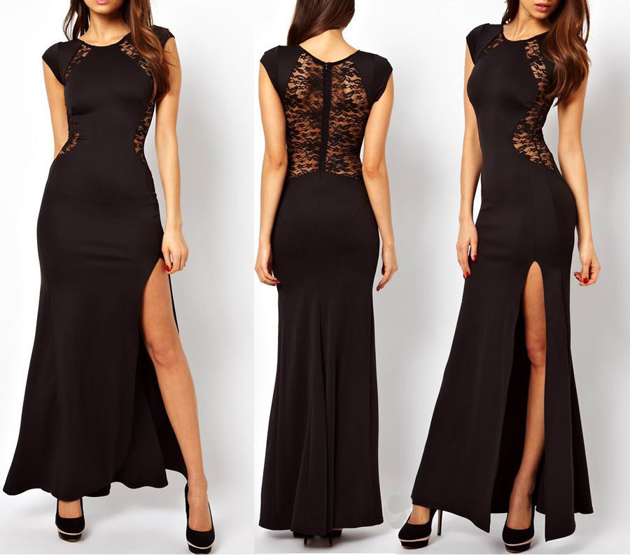 New Fashion 2018 Hot&sexy Vestido De Festa Robe De Soiree Casual Brief Lace Party Evening Elegant Mother Of The Bride Dresses