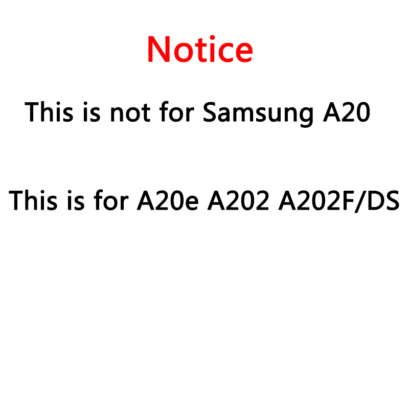 Image 2 - For Samsung Galaxy A20e A202 A202F A202DS Display Touch Screen  Digitizer Assembly A202 A202F/DS For SAMSUNG A20e LCDMobile Phone LCD  Screens