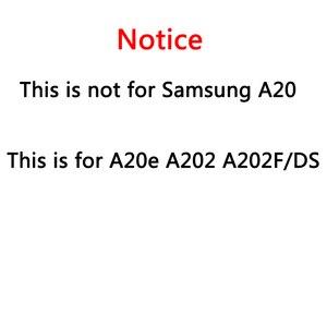 Image 2 - Samsung Galaxy A20e A202 A202F A202DS ekran dokunmatik ekran Digitizer meclisi A202 A202F/DS SAMSUNG A20e LCD