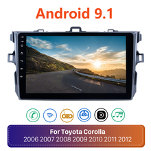 Car Multimedia Car-Radio Android 9.1 Toyota Corolla Player Navi Stereo Gps 2009 2007