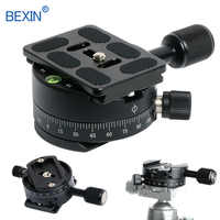 Quick release clamp panorama shooting camera clamp tripod plate mount clip set for dslr camera tripod arca swiss qr plate