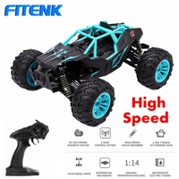FITENK 1:14 4WD RC Car 2.4G Radio Control RC Car Toys High Speed Off Road Drift Racing Car Vehicle SUV Trucks Toys for Children