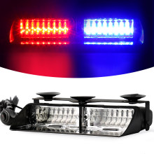 16 LED Strobe Signal Emergency Police Windshield Warning Beacon Lights Red Blue Yellow Amber White Green