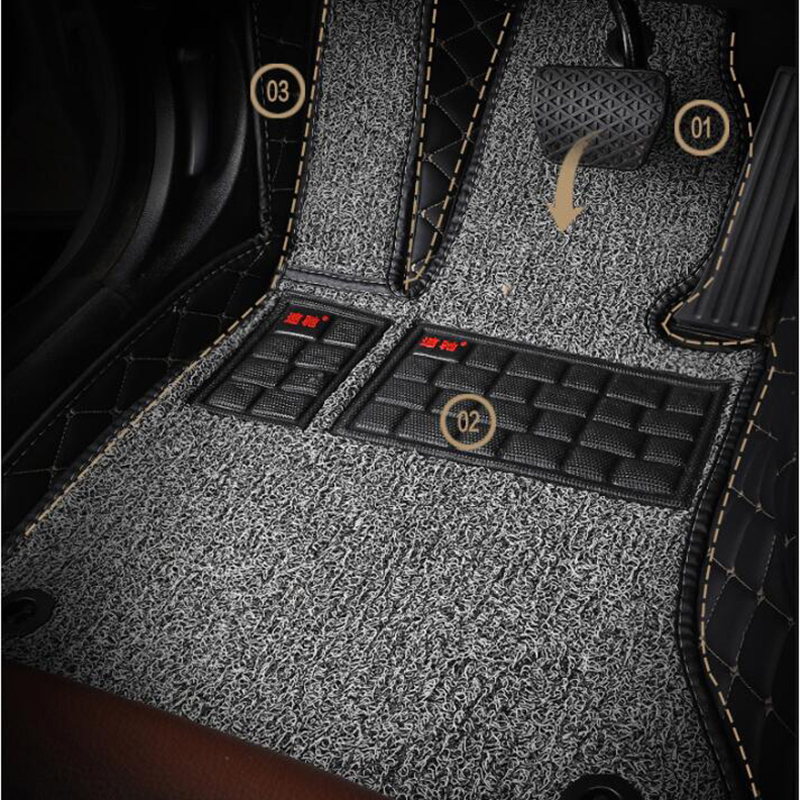 Apply only for Subaru forester  / (imported) 2019 year full surround foot pad, special high end foot pad