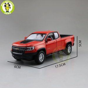 Image 3 - Camioneta COLORADO fundida modelo de camión para coche, juguetes para niños, regalos, 1/31, 2018