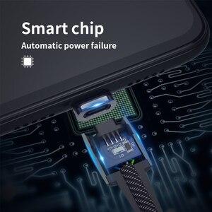 Image 2 - Wsken cynku magnetyczne rodzaj USB C kabel dla iPhone ładowarka kablowa szybkie ładowanie Micro kabel USB C dla Galaxy S10 8 xiaomi note 7 Pro
