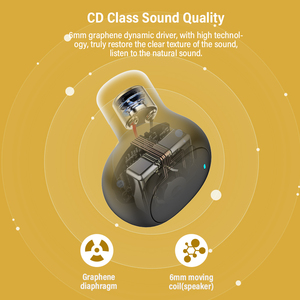 Image 5 - DACOM U7 TWSหูฟังไร้สายTrueหูฟังบลูทูธพร้อมไมโครโฟนมินิในหูฟังแฮนด์ฟรีหูฟังสำหรับiPhone samsung Huawei