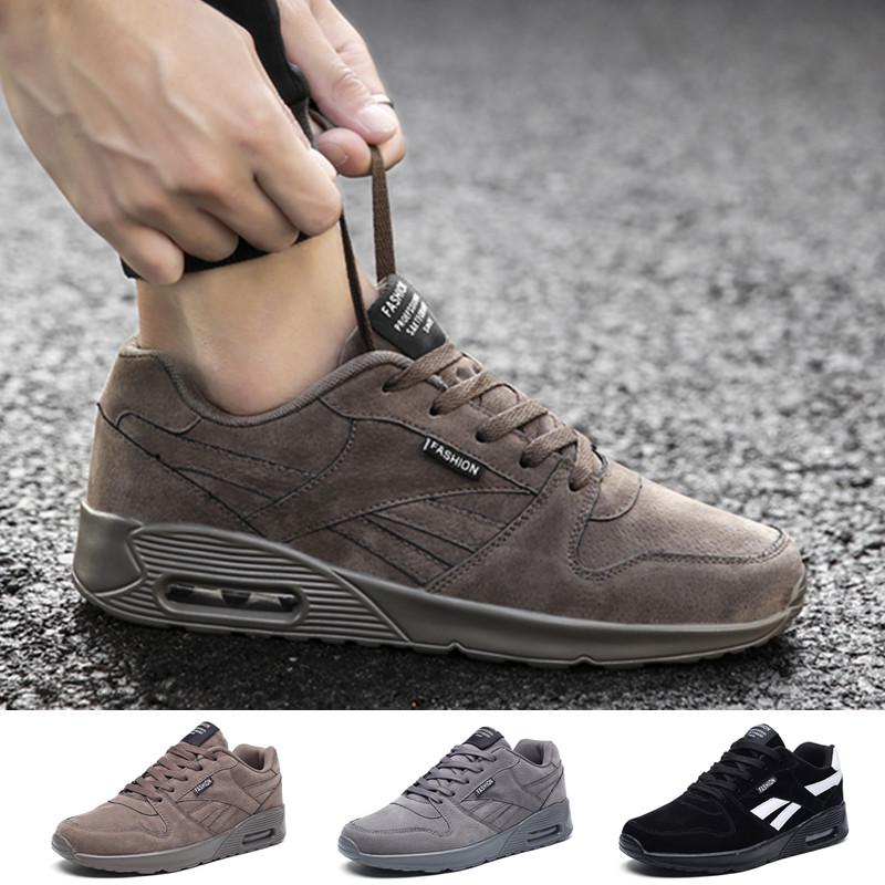 Men's Casual Shoes Fashion Breathable Sports Air Cushion Walking Athletic Sneakers
