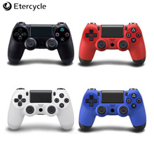 Wired Controller Gamepad For Sony Ps4 Game Shock Joystick Controle For Playstation4 Console Vibration Joypad With Cable цена и фото