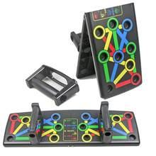 Pieghevole Maniglie Push-Ups Push Up di Bordo Multi Color-coded muscolare di Società di Formazione Attrezzature di Allenamento di Fitness Portatile Unisex
