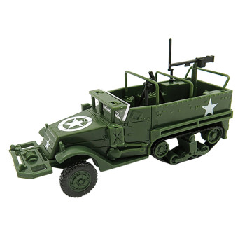 1:72 M3 Vehicle Assembly Model Military Vehicle Toy Children Gift Diy Accessories kids toys juguetes brinquedos игрушки New image