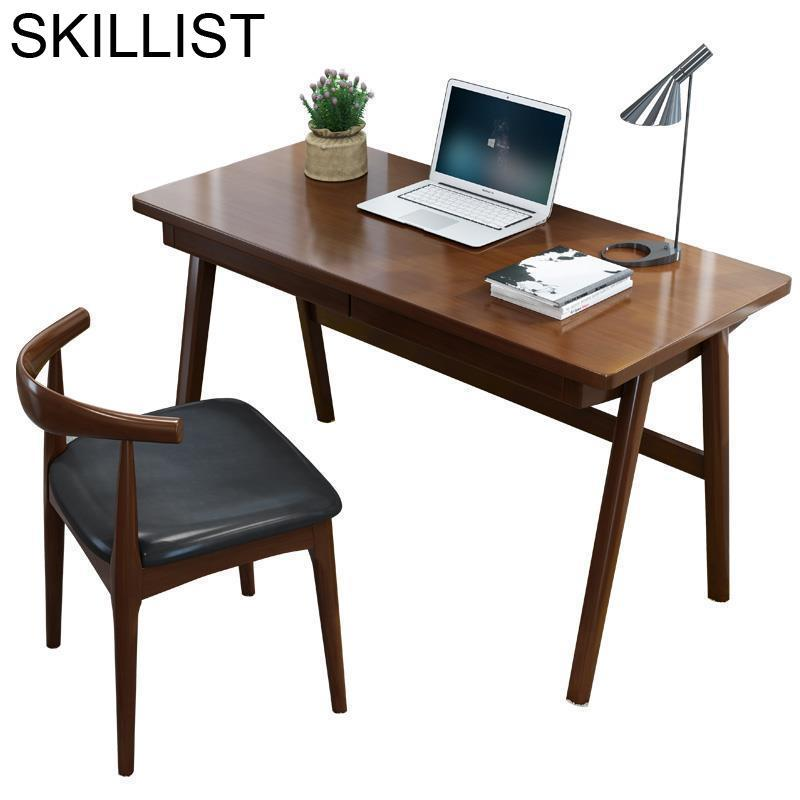 Furniture Lap Biurko Dobravel Escrivaninha Scrivania Ufficio Notebook Nordic Mesa Bedside Laptop Stand Desk Computer Study Table