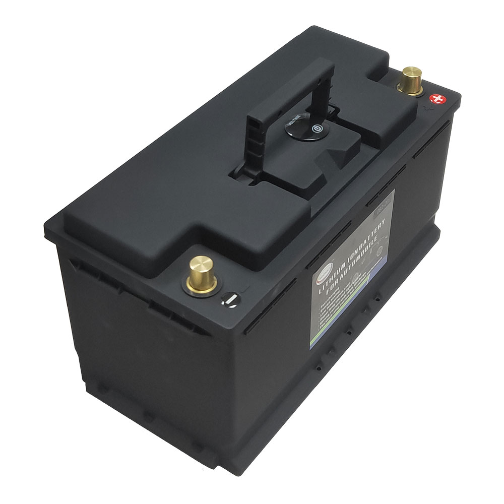 Automotive LiFePO4 Battery 82AH 12V - Lithium Phosphate Ion Battery 1600CCA Size-305*174*190mm LiFePo4 Auto Car Battery