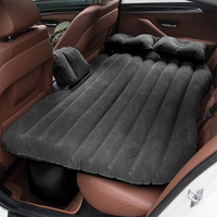 Universal Outdoor Camping Travel Bed Moisture proof Car SUV Back Seat Cover Travel Mattress Air Inflatable Bed with pump