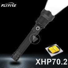 400000 lumenów XLamp xhp70 2 polowanie najpotężniejsza latarka led akumulator usb latarka cree xhp70 xhp50 18650 lub 26650 baterii tanie tanio paweinuo CN (pochodzenie) ROHS Odporny na wstrząsy Twarde Światło Samoobrona Regulowany HS522D1 HS313D1 200-500 m 5-8 plików