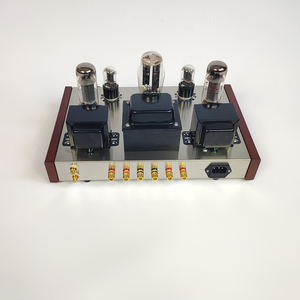 Image 2 - 2019 Nobsound Home Audio เครื่องขยายเสียงหลอด DIY ชุด 5Z3P + 6N9P + EL34 B สแตนเลสสตีลเดี่ยว End Power Ouput 13W * 2 AC110V/220V