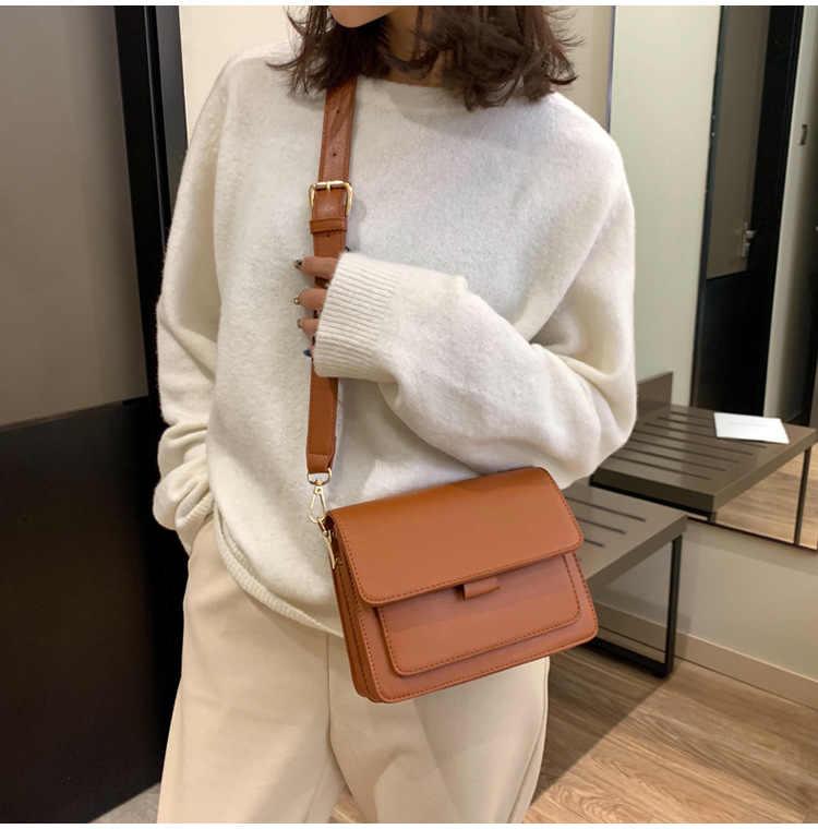 Kunzite mulheres crossbody sacos designer alça larga feminina bolsa de ombro mensageiro luxo couro do plutônio pequena aleta retro senhoras
