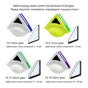 Image 2 - Baffect Double Side Glass Cleaning Brush Magnetic Window Cleaning Magnets Household Cleaning Tools Wiper Useful Glass Cleaner