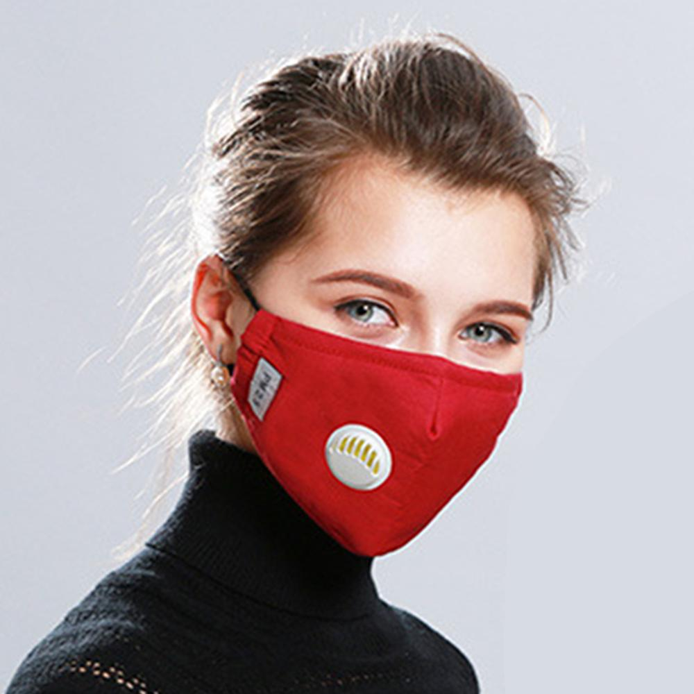 Image 5 - Unisex Anti haze Mouth Masks Cotton PM2.5 Mask with Valve 