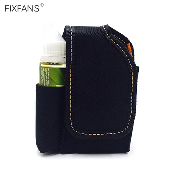 FIXFANS Small Vape Carrying Case Portable Travel Bag with Belt Clip for Box Mods Atomizer Tank Holder Storage Organizer Case