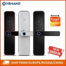 Fingerprint-Lock Door-Lock Biometric Tuya Wifi RFID Password Intelligent Security Waterproof
