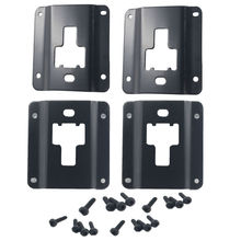 Truck Bed Cargo Load Hook Steel Interface Plates for Fort F150 F250 F350  Replace of Ford FL3Z-9928408-AB Tie Down Bracket Panel