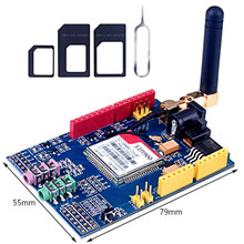 Sim900 gprs/gsm placa de desenvolvimento escudo quad-band módulo para compatível c84