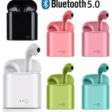 Earphones Earbuds Headset Huawei Xiaomi Samsung Bluetooth 5.0 Ce for I7s