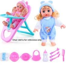 Детская интеллектуальная имитация говорящая кукла ролевая игра