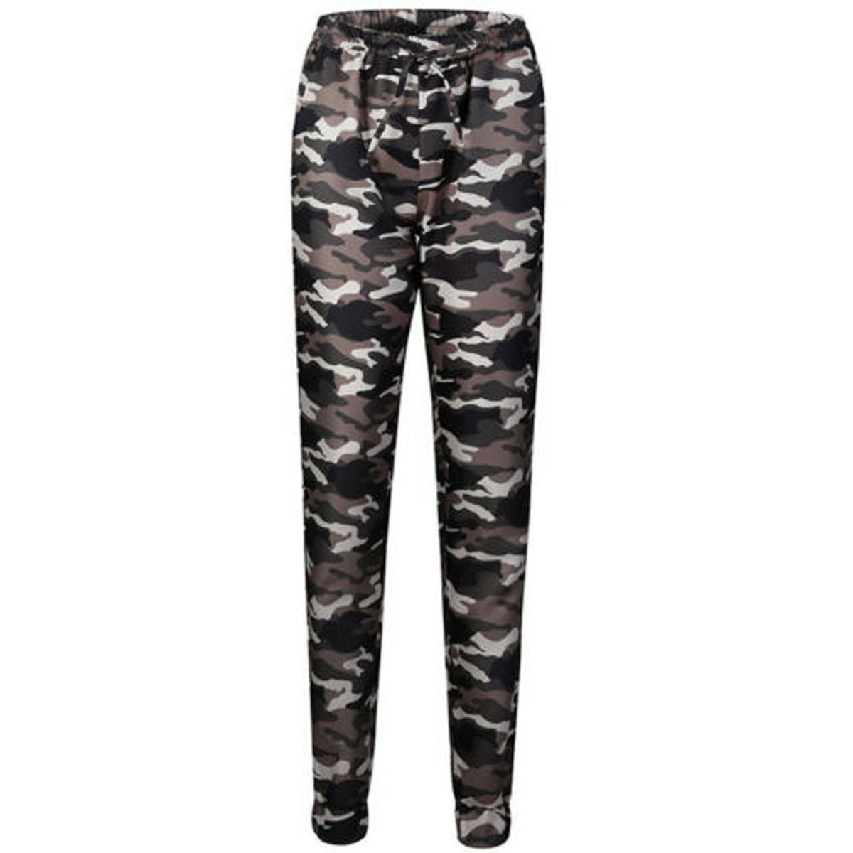 1pc Autumn Outdoor Camping Womens Camo Trousers Casual Hip-hop Military Army Combat Camouflage Pants S-2XL Plus size pants hot 23