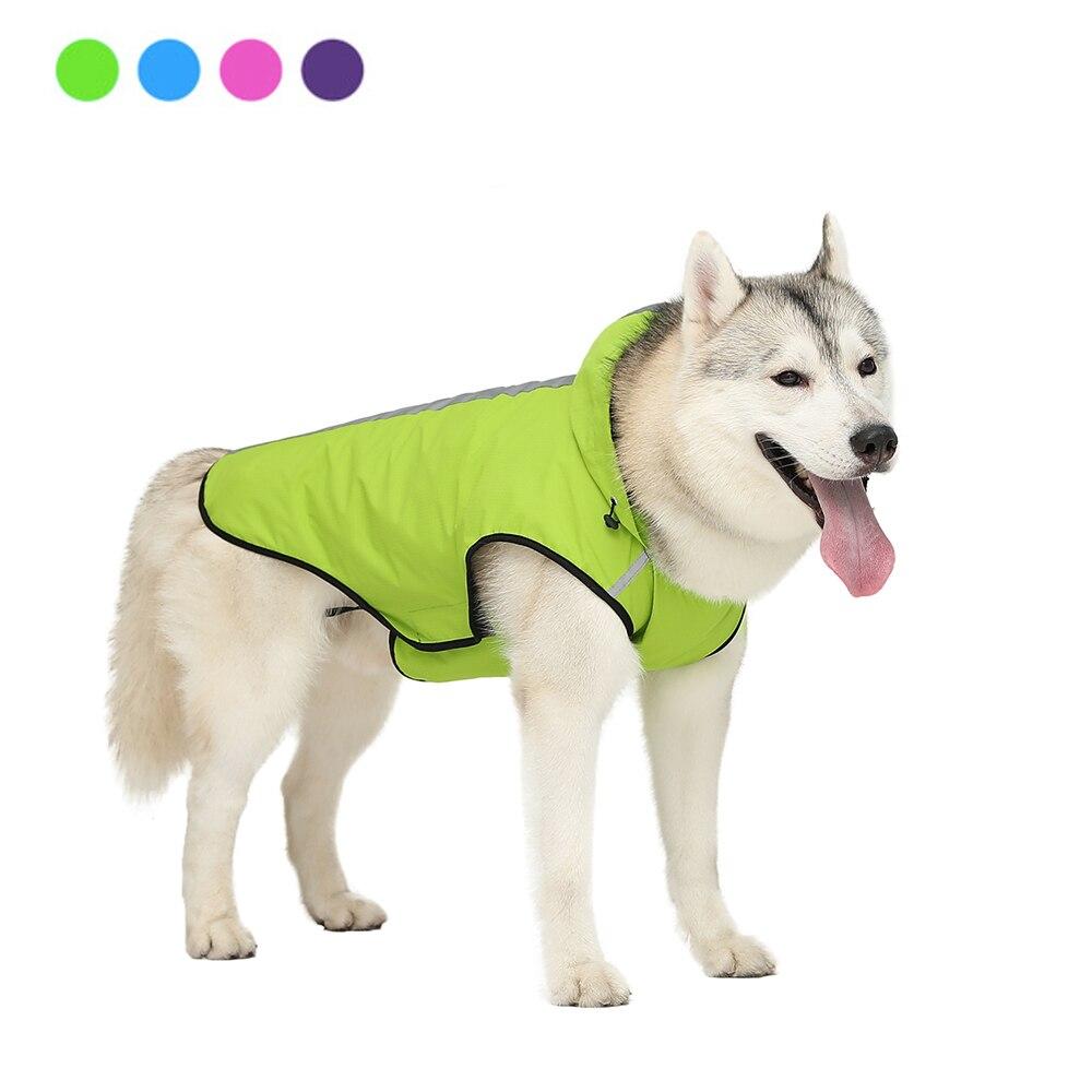 Chaqueta impermeable Para perros y mascotas, chaleco de verano Para perro, impermeable reflectante Para exterior, Ropa Para perros pequeños, medianos y grandes