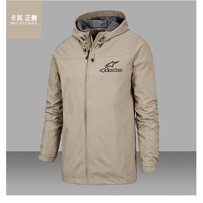2021 Classic Alpine Star alpinismo giacca antivento con cappuccio comodo da uomo moda donna alta qualità asiatica taglia 5XL