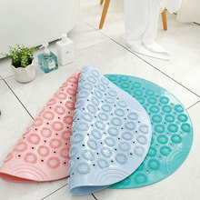 Environmentally Friendly PVC Suction Cup Bathroom Mats Household Shower Room Hydrophobic Massage