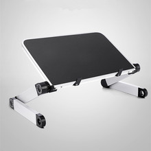 Mini laptop standı Lap Masası Yatak Kanepe Katlanır Ayarlanabilir Çok Fonksiyonlu Ergonomik Yüksekliği 360 Derece Açı