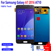 Amoled For SAMSUNG Galaxy A7 2016 A710 LCD Display Touch Screen LCD Display Digitizer Assembly For SAMSUNG Galaxy A7 2016 LCD