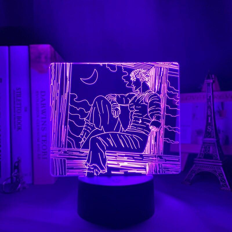 H8ff077e54b424b798705bf0b20ee1be6H Luminária Anime led night light berserk tripas para quarto deco presente colorido nightlight manga 3d lâmpada berserk tripas