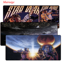 Star Wars Large Pad mouse pad to Mouse Notbook Computer Mousepad Custom With Locking Edge Gaming For LOL CSGO