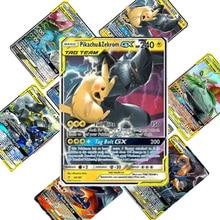200 шт., набор карт Pokemon TAG TEAM, с изображением 80tag team 20mega 20 ultra beast Gx