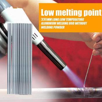 10pcs/lot Welding Rod Wire Low Temperature Aluminium Electrodes Sticks Soldering varillas de soldadura