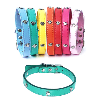 Leather Spiked Dog Collar Adjustable PU Rivets Small Medium Puppy dogs cat Strap Collar Studded Rivets Pet Necklace Accessories pu leather solid soft colorful pet dog collar for small medium large dogs neck strap adjustable safe puppy kitten cats collar