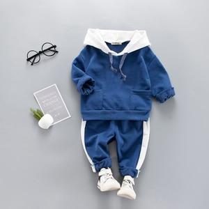 Image 2 - เสื้อผ้าเด็กฤดูใบไม้ผลิฤดูใบไม้ร่วง Boys เด็กวัยหัดเดินเสื้อผ้าชุดชุดเด็กเสื้อผ้าชุดสำหรับสาวเสื้อผ้าชุด