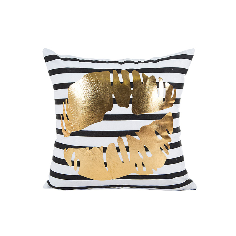classic creative golden chair cushion covers 45 45cm geometryic without inner hot stamping covers cushions home decor X13 in Cushion Cover from Home Garden