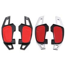 Автомобильное рулевое колесо DSG, задние переключения передач, наклейки для VW Volkswagen Golf GTI R Rline GTE GTD MK7, автомобильные аксессуары